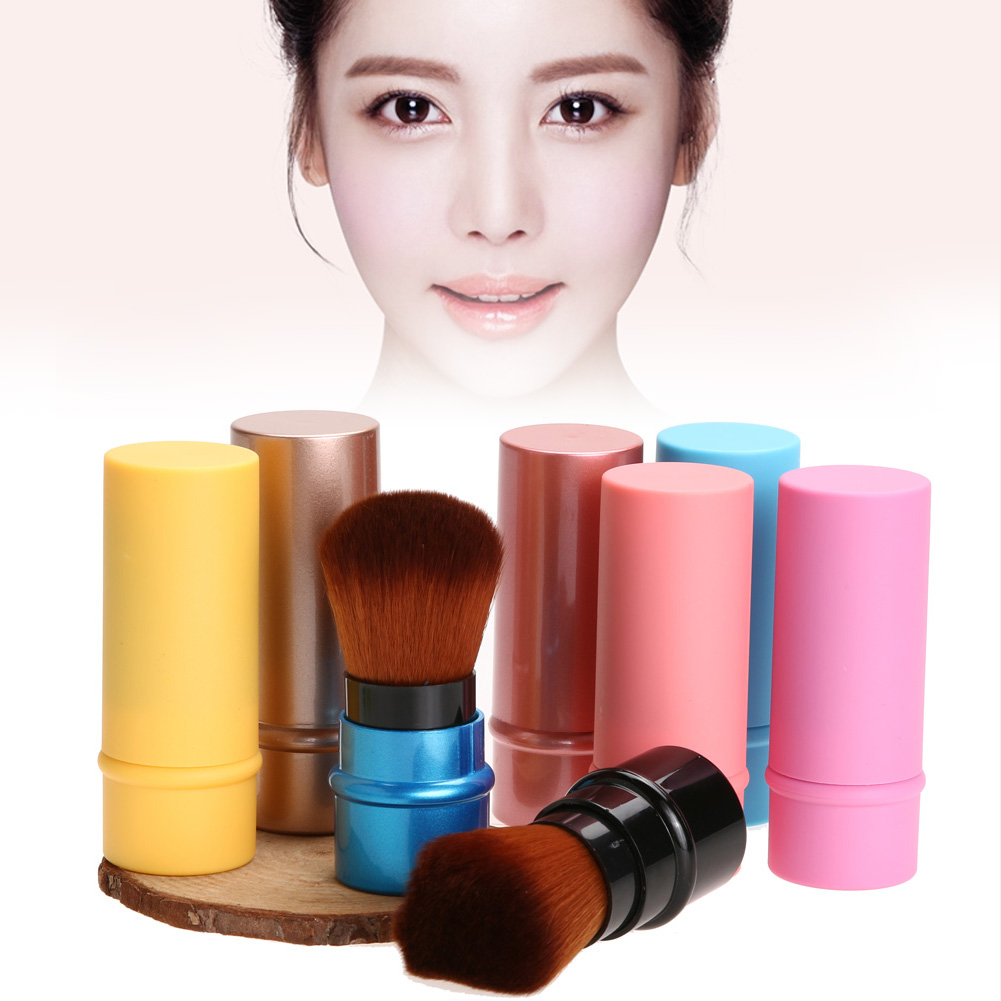 New Portable Foundation Face Kabuki Powder