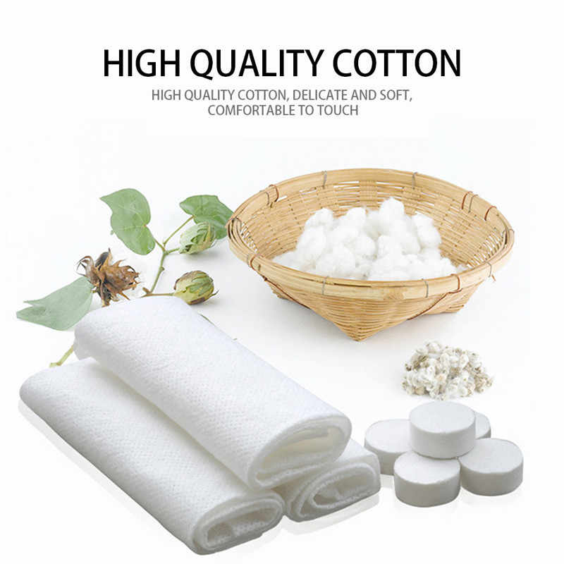 Newest 100pcs Magic Towel Disposable Mini-Compressed Face Towel Washcloth Travel Outdoor personal clean cloth pack independently