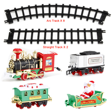 Electric Sound/Light/Santa Railway for