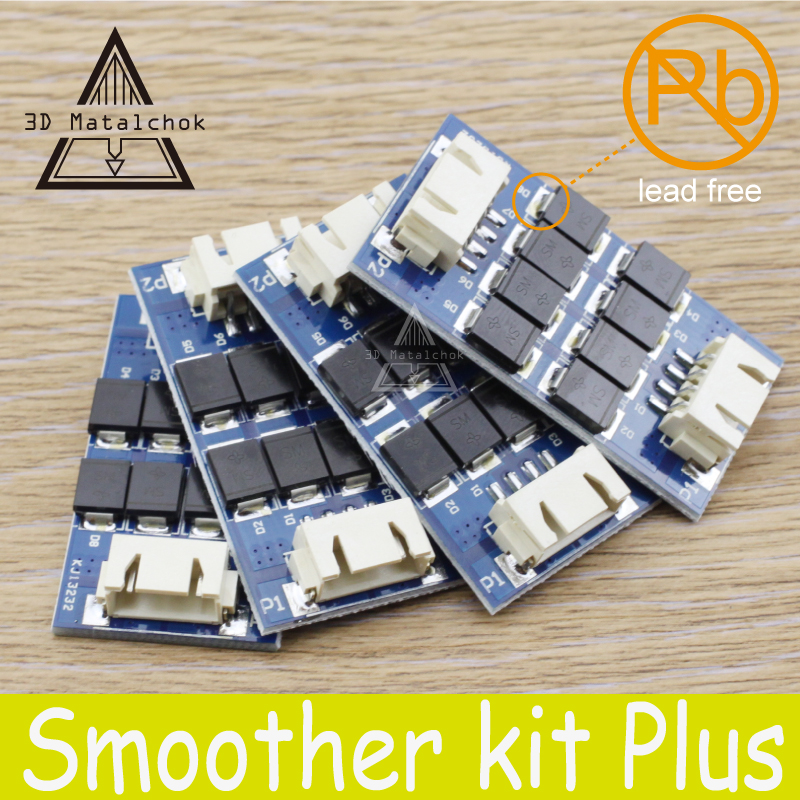 Free shipping 3d printer part TL-Smoother plus addon module for 3D pinter motor drivers reprap mk8 i3 Ultimaker 2+ UM2 Extended 3d printer parts reprap ultimaker z motor with trapezoidal lead srew tr 8 8 p2 free shipping