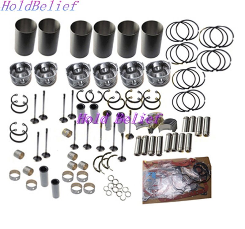 D10BEAE2D12D Engine Overhaul Rebuild Kit for Volvo Excavator EC360B
