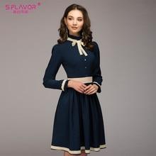 27893081a S. SABOR vendimia de las mujeres de Una Línea de vestido de la venta  caliente