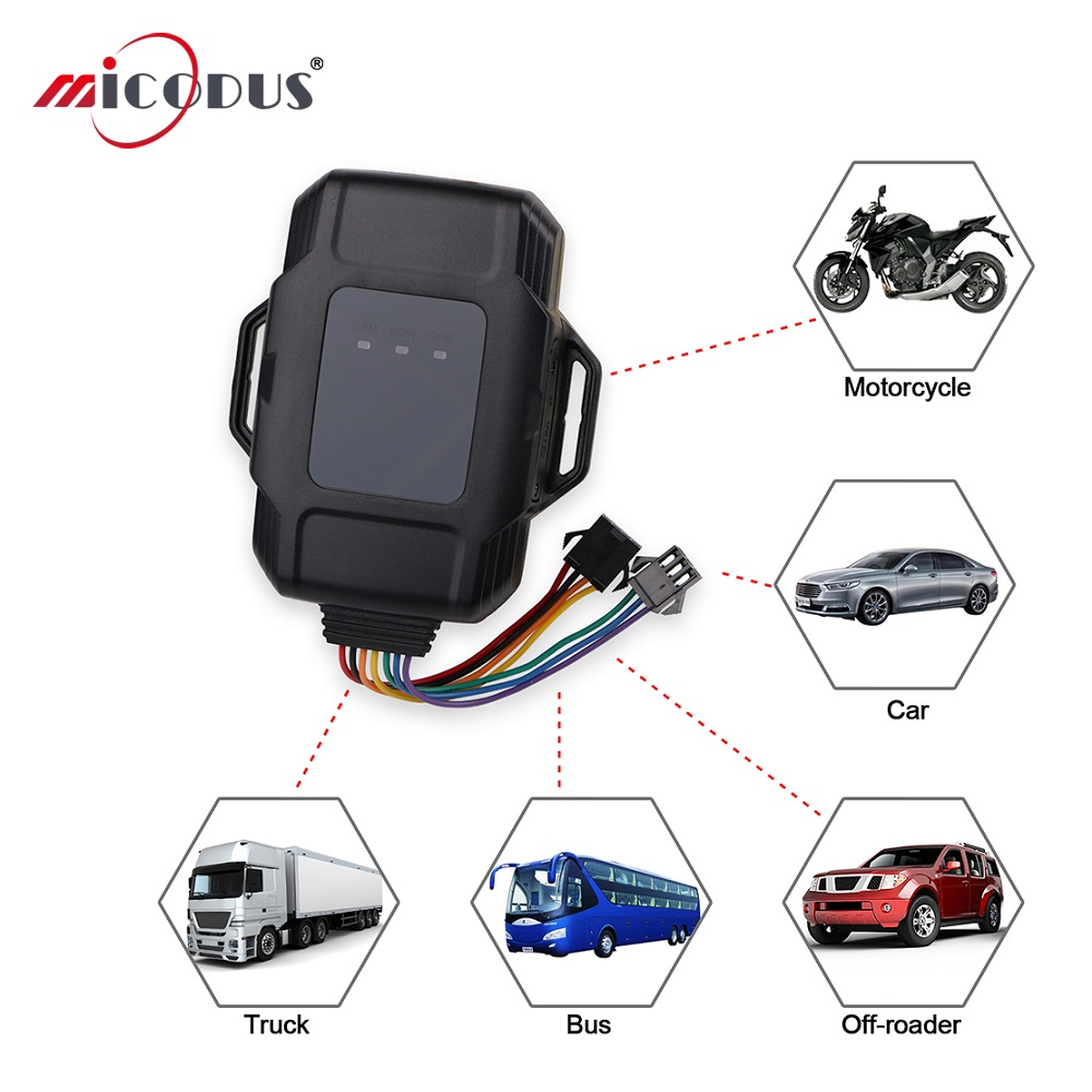 Motorcycle GPS Tracker JM01 Waterproof IP65 Cut Off Oil Remotely SOS Call Key Car GPS Locator GT100 Motorbike Realtime Tracking