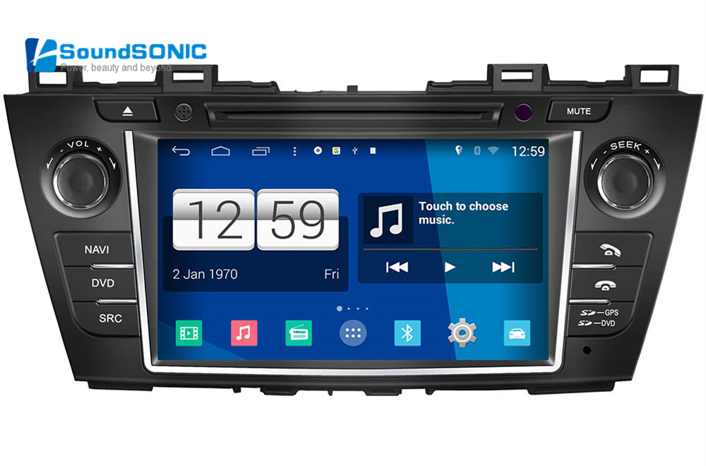 Android 4.4.4 For Mazda 5 Premacy 2009 2010 2011 2012 Car DVD GPS Navigation Navigator Multimedia Android Auto Radio Stereo