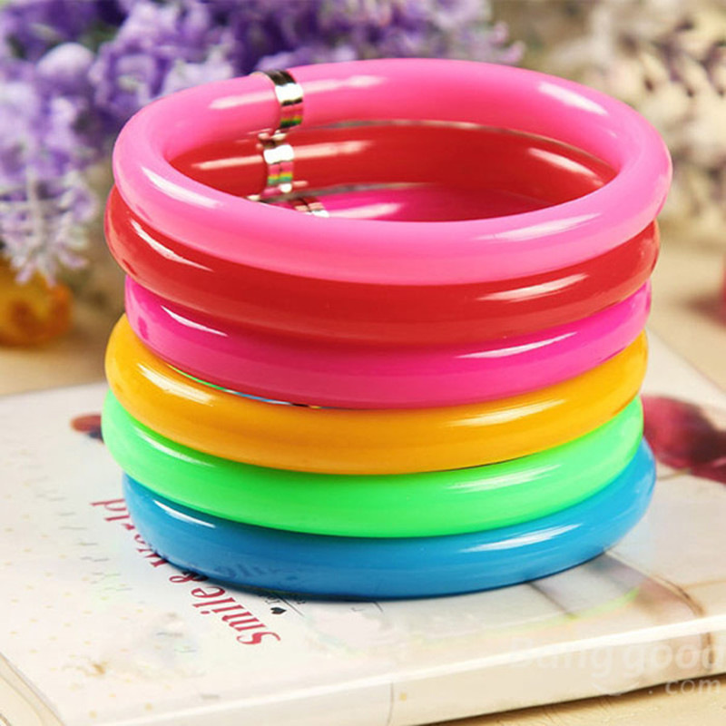 Creative lovely Novelty Flexible Cute Soft Plastic Bangle <font><b>Bracelet</b></font> ballpoint <font><b>pen</b></font> learning Stationery student supplies wholesale image