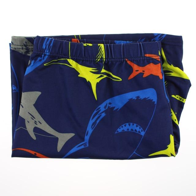 Men's Shark Print Swimming Briefs 5