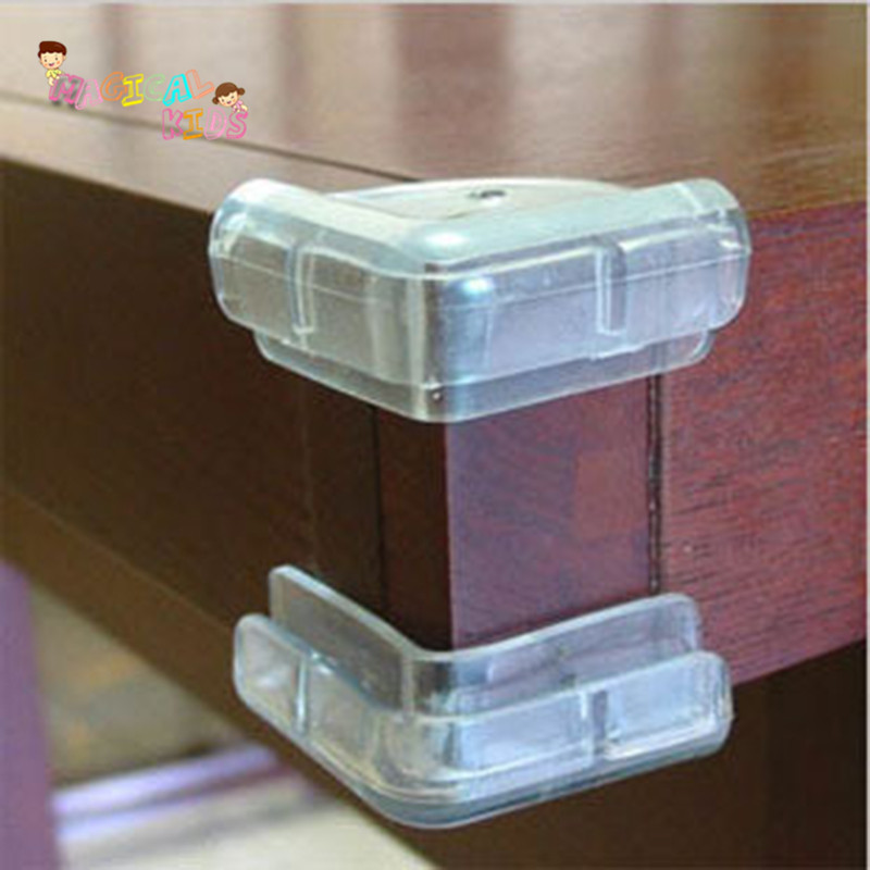 Anti Collision Soft Corner Guards Edge Protection Cover Children Securite  Enfant Silicone Protector Transparent Table 6pcs/lot In Edge U0026 Corner  Guards From ...