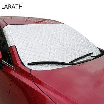 Tamanho grande-Car covers de Alta Qualidade Car Window Sombrinha Auto Window Sombrinha Capa Sun Reflective Sombra Windshield para SUV ordinária