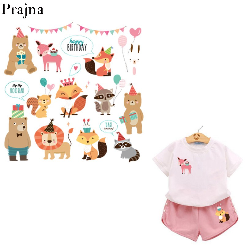 image regarding Printable Patches named US $2.08 21% OFFPrajna Iron Upon Transfers Printable Warmth Go Vinyl Patches For Clothing Cartoon Little ones Ironing Patches Thermal Move Sticker-within
