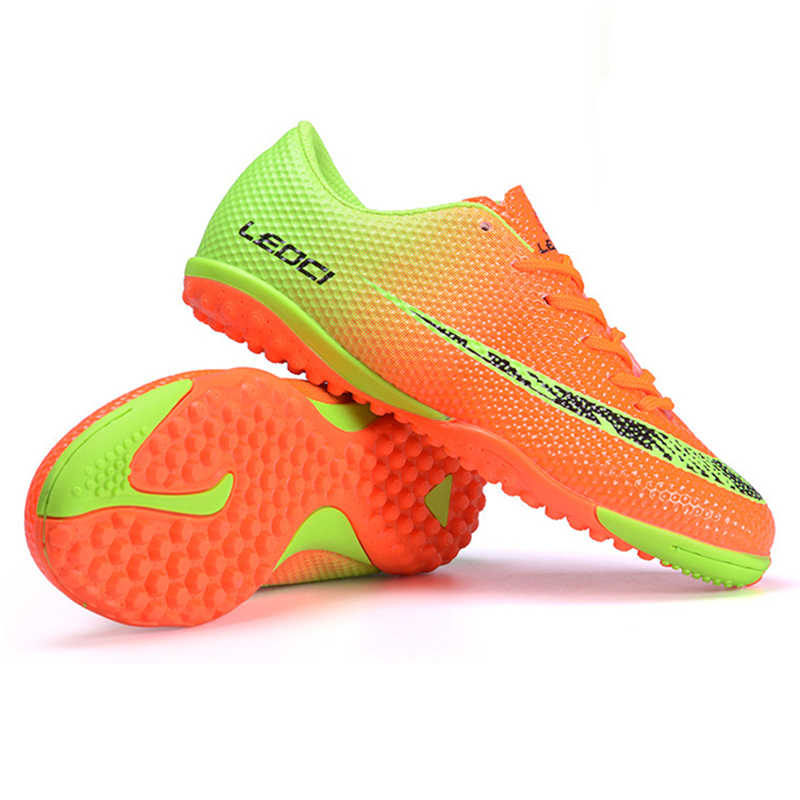 e55683b7 ... Лидер продаж Детская беговая дорожка Футбол Бутсы Новые оригинальные  Обувь для футбола детская мини сапоги дешевые ...