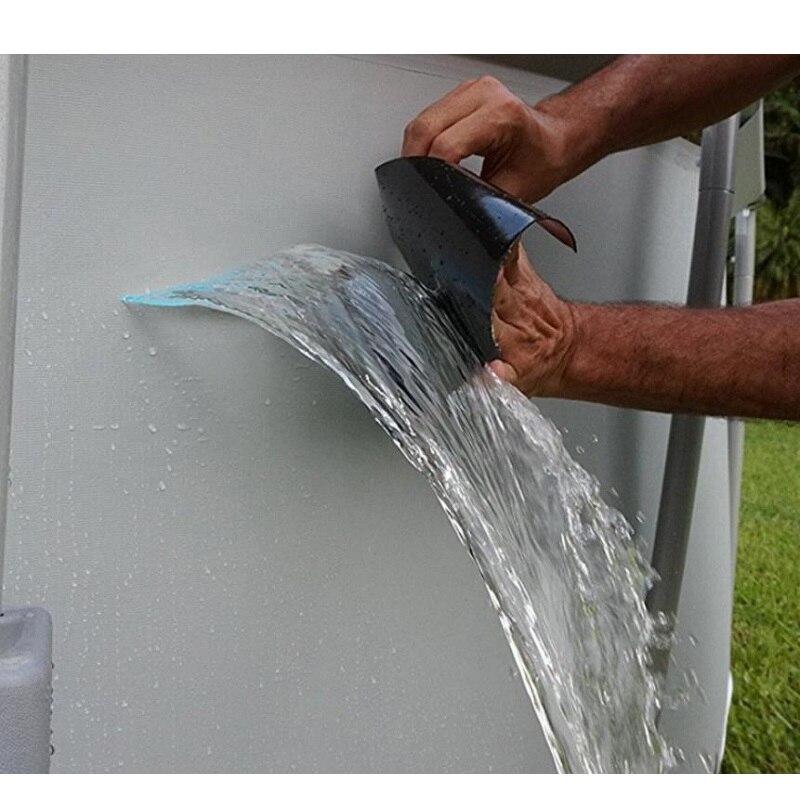 Super Starke Wasserdichte Stop Lecks Reparatur Band Wasserdicht Klebstoff Wasser Rohr Klebeband PVC Starke Pipeline Dichtung Reparatur Band