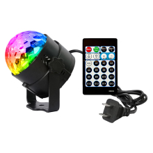 New 15 colors Mini Led Stage Light Remote control RGB Projector Stage Light DJ Club Disco KTV Party Bar AC100-240V EU or US plug eu us plug ktv club bar mini rotating led rgb crystal magic ball effect light disco dj stage business lighting ac220v