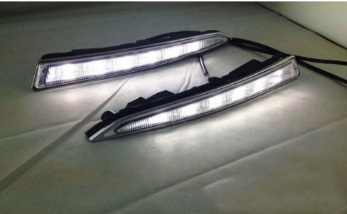 Replace LED Daytime Running light DRL for Ford Escape Kuga 2013 2014 sunkia 2pcs set led drl daytime running light fog driving light guide light style for ford kuga escape free shipping