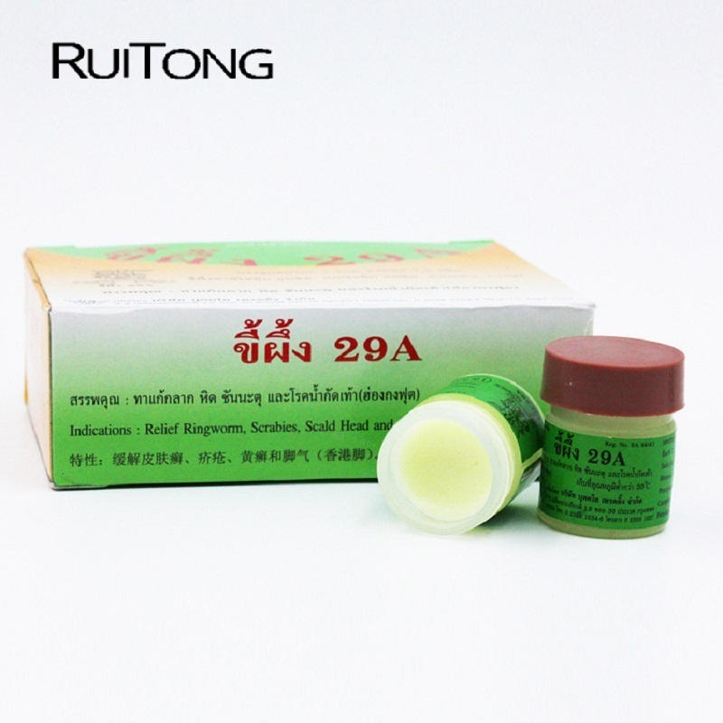 Image 2 - RUITONG 12 Pcs 29A Natural Ointment Psoriasi Eczma Cream Works Perfect For All Kinds Of Skin Problems Patch Dropshipping-in Patches from Beauty & Health
