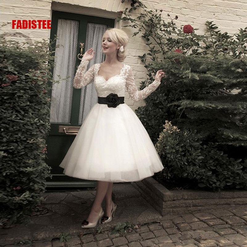 2017 nouvelle arrive lgante robe de marie robe de festa style robe chrie manches compltes livraison gratuite - Aliexpress Mariage