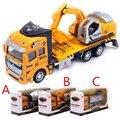 1:48 miniatura modelo escala modelos de aleación de coche de juguete camiones de saneamiento de simulación de vehículos de ingeniería basura toys para niños a055
