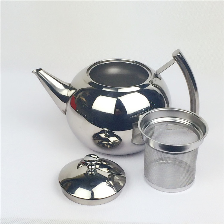 Stainless steel thickening liner tea pot Large canisters coffee pot teapot water