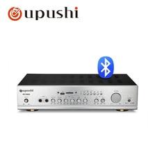 Bluetooth karaoke mixer amplifier 320w home audio receiver 2 channel av amp aucio receiver for oupushi