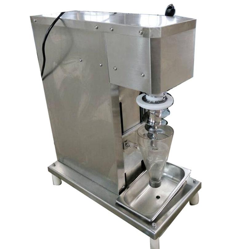 Manufacture Selling Real Fruit Ice Cream Mixer Stainless Steel Ice Cream Maker Soft Fruit Frozen Dessert Blender