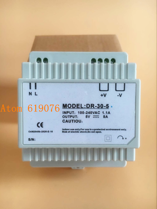 din rail DR 30W 5V  guide rail type LED switching power supply ejor tiku structure conduct and performance of palm oil marketing in nigeria