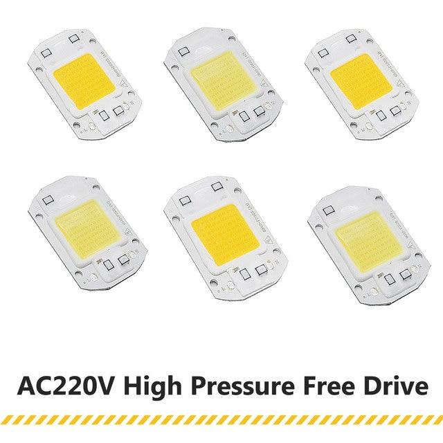 LED Matrix 20W 30W 50W 220V Diode Array High Power Smart IC Chip Light For Searchlight matrix Outdoor Spotlight Floodlight