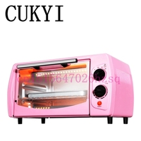 11L Household Baking Oven Toaster Oven Mini Multifunction Double Small Oven