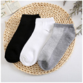 6 Pieces/3 Pairs Women Fashion Sock Short Female Three Colors Autumn Summer Socks Standard Simple Design Warm Socks