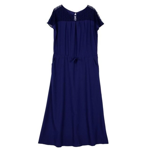 cd43277a470 Plus Size Dress Elegent Women Summer Dresses Short Sleeve Long Evening  Party Prom Maxi Vestidos