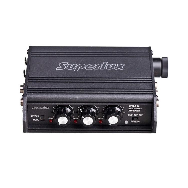 Superlux HA3D portable headphone amplifier 3 channels headset amplifier