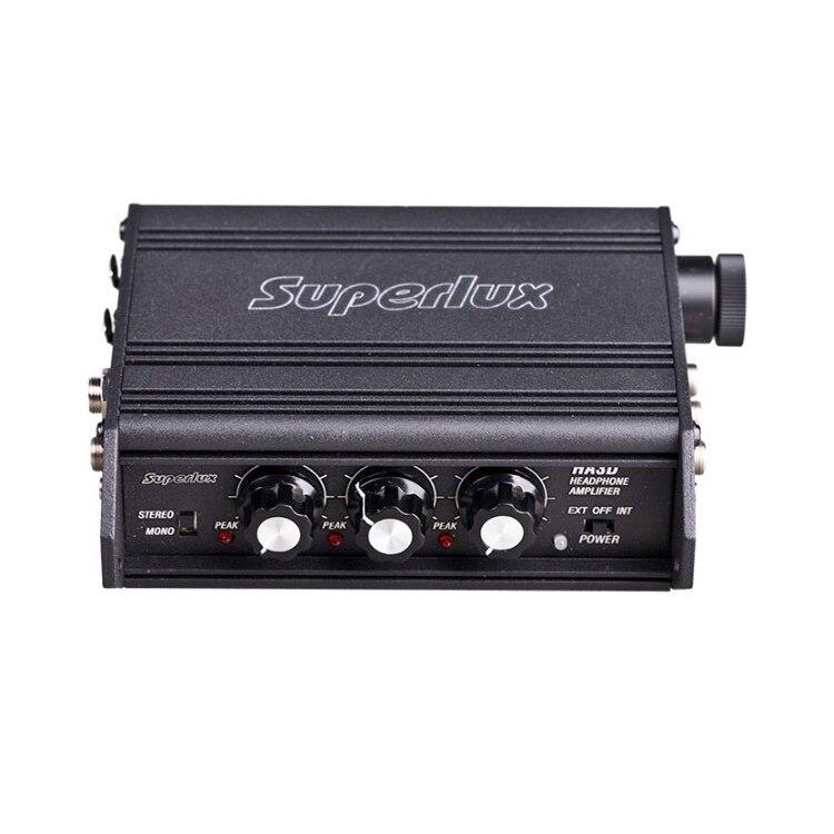 Amplificateur de casque portable Superlux HA3D amplificateur de casque à 3 canaux-in Casque Amplificateur from Electronique    1