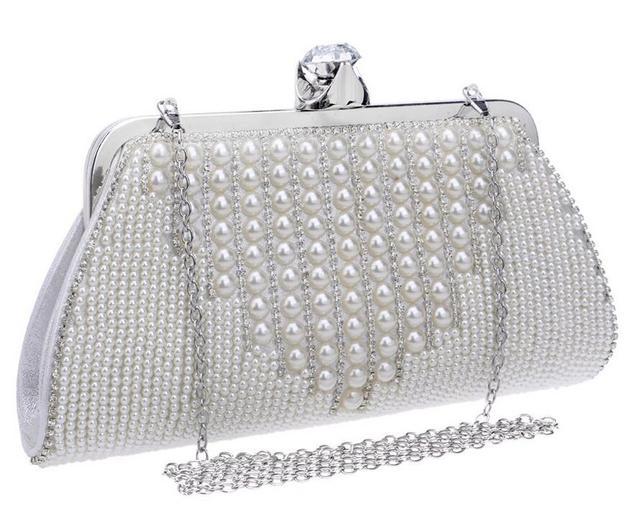 4f40406d310f Solid Design 2016 Evening Bag Flower Bride Bags Purse Full Dress Party  Handbag Wedding Clutch Women Party Purse Lady Gift