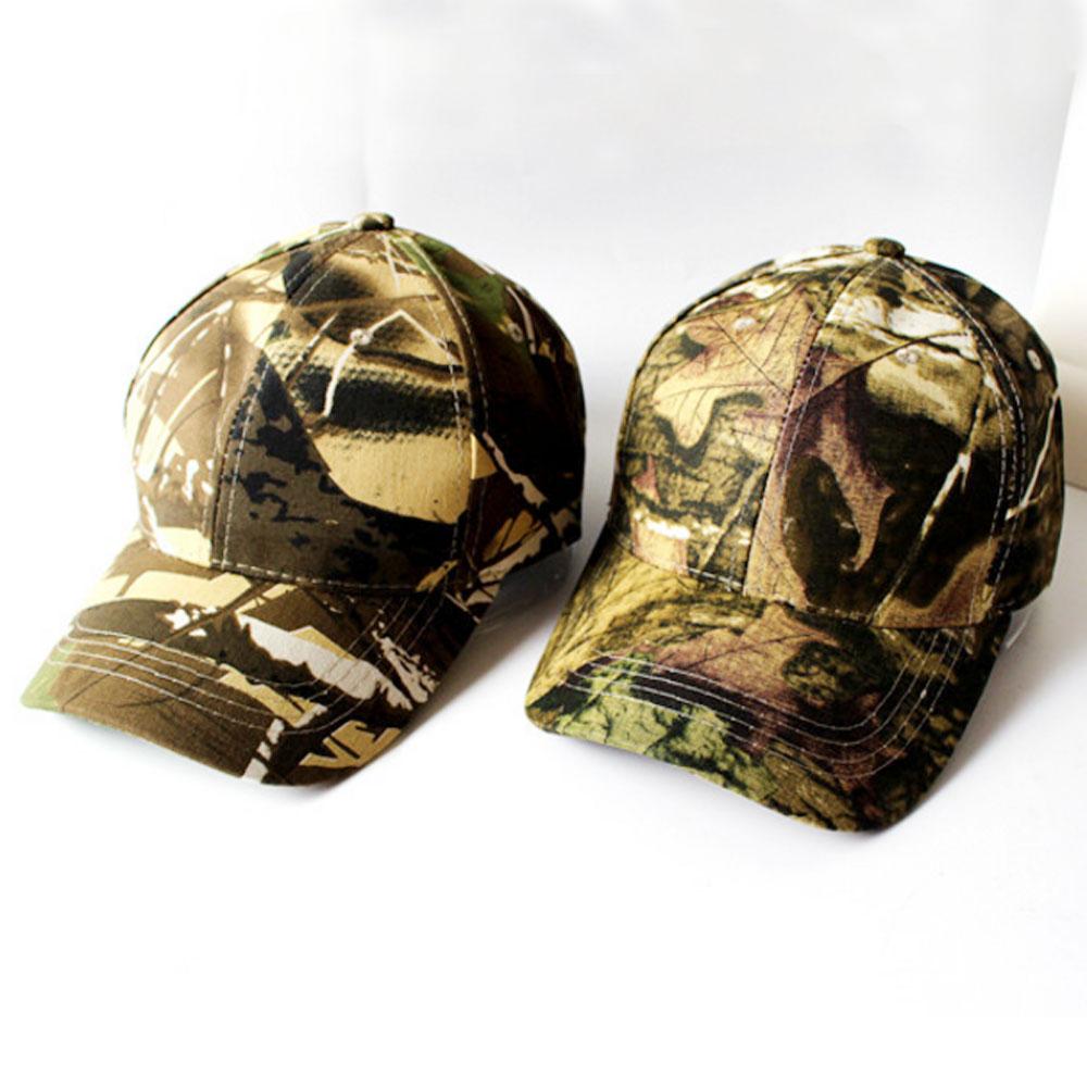 96961f5885333 Camo Cap Adjustable Outdoor Sports Sun Camouflage Hunting Army Hiking  Baseball Fisher Fishing Bucket Hat