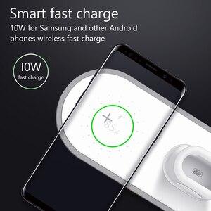 Image 2 - VVKing Caricatore Senza Fili Per iPhone X XS MAX XR 8 Veloce Senza Fili a Pieno carico 3 in 1 Pad di Ricarica per airpods 2019 di Apple Orologio 4 3 2