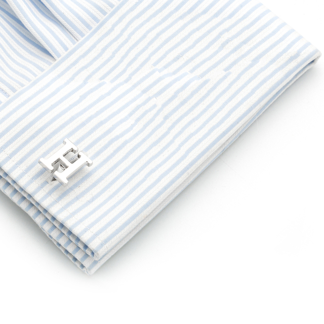 Vagula H Letter Design Cufflinks Ship Luxury Cuff Links Wedding Men's French Shirt Gemelos 19