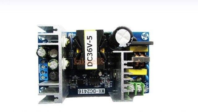 AC ממיר 110v 220v כדי DC 36V מקסימום 6.5A 100W מוסדר שנאי LED נהג אספקת חשמל מטען
