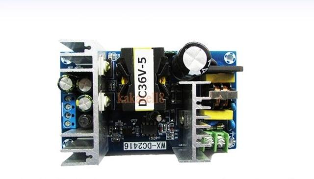 Convertisseur AC 110v 220v à cc 36V MAX 6.5A, 100W, transformateur réglementé, pilote, chargeur dalimentation LED