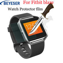 Tempered film For fitbit blaze Watch Full Coverage case cover Glass Screen Protective film For fitbit blaze watch Accessories premium tempered glass screen watch protective film for fitbit blaze 9h 2 5d anti shatter tempered watch protective film
