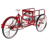 1:10 Scale Alloy Diecast Racing Tricycle Bike Model Vehicle Bicycle Cycling Toy Red