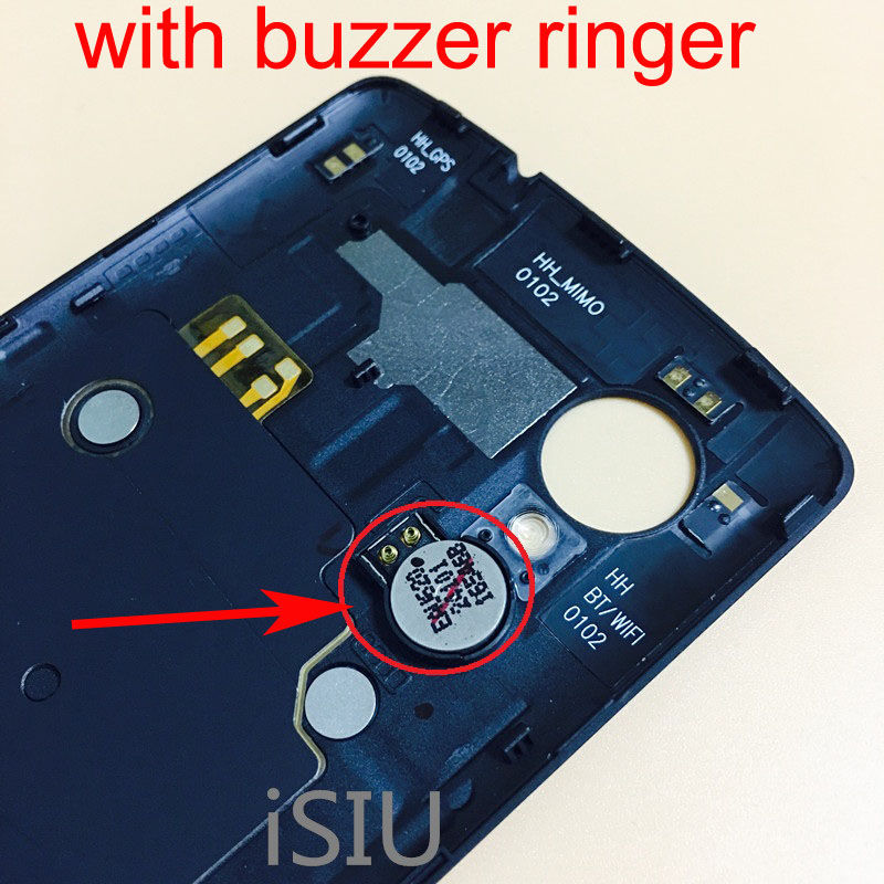 iSIU Mobile Phone Back Cover For LG Nexus 5 D820 <font><b>D821</b></font> D820 <font><b>Battery</b></font> Cover Rear Case Housing With NFC Buzzer Ringer Nexus5 Parts