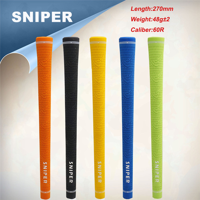 US $43 0 |SNIPER 2018 NEW Golf Pro Driver Hybrid Iron Grip Standard Golf  Grips 13 Pieces/Lot With Top Quality Free shipping-in Club Grips from  Sports