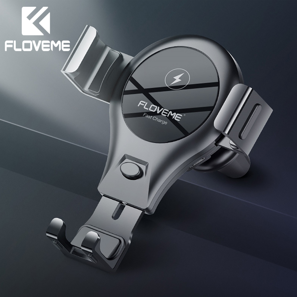 FLOVEME Qi Car Wireless Charger For iPhone XS Samsung S9 Car Phone Charger Fast Wirless Charging USB Wireless Car Charger HolderFLOVEME Qi Car Wireless Charger For iPhone XS Samsung S9 Car Phone Charger Fast Wirless Charging USB Wireless Car Charger Holder