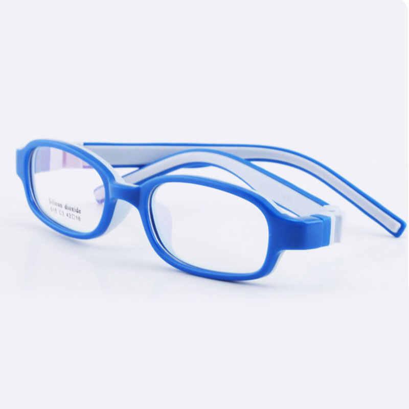 515 Criança Óculos para Meninos e Meninas Crianças Óculos de Armação Flexível Óculos de Qualidade para Proteção e Correção da Visão