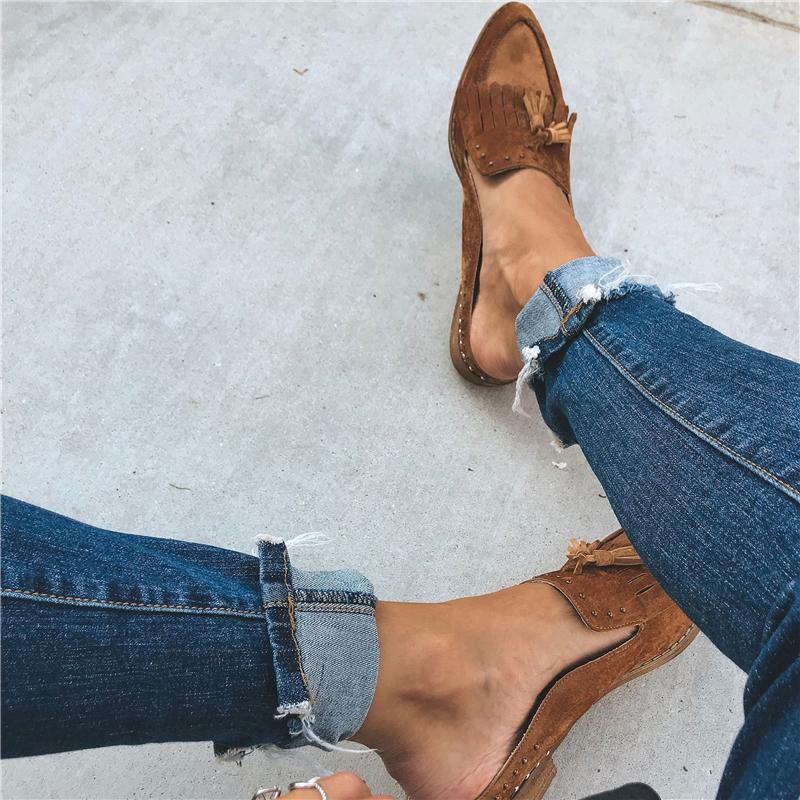 ใหม่ผู้หญิงสบายๆ Bailarinas Luxury ยี่ห้อตื้นปากชี้บัลเล่ต์หญิงรองเท้าถักคลอดบุตร Loafers