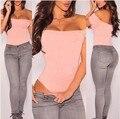 2017 новый дизайн женщин сексуальный трико с плеча женщины one piece Стринги комбинезоны bodycon женщины сексуальная одежда черный розовый