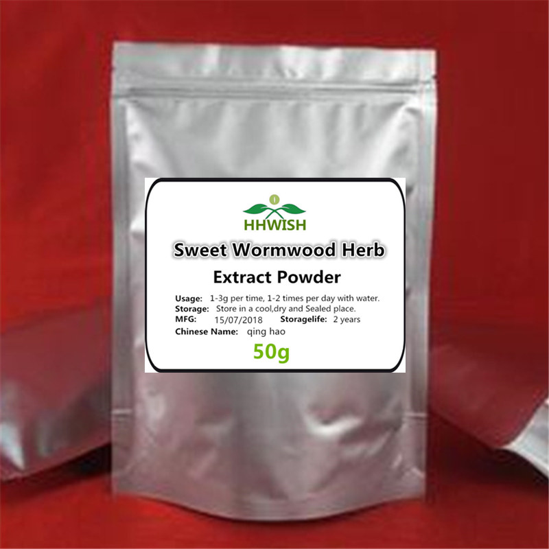 50g-1000g 100% High Quality Sweet Wormwood Extract 20:1 Powder/ Artemisia Annua,southernwood, Artemisia Apiacea,qing Hao