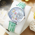 Miss Keke Cartoon Watches Women 3D Clay Quartz-Watch Leather Waterproof Watch Analog Ladies Casual Wristwatches 8 montre femme