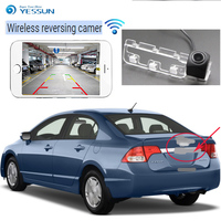 YESSUN New Ariiva car Reverse HD Camera for Honda Civic 2010 2011 Night Vision Reverse Camera license plate wireless Camera