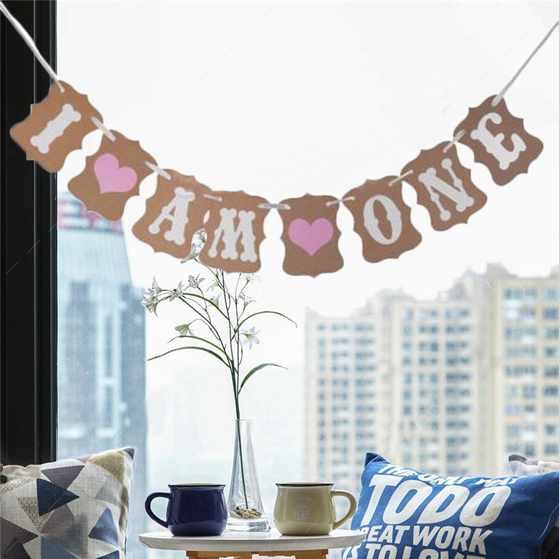Vintage English Letter Weeding Marriage Decoration Birthday Party Supplies Home Baby Christening Decor Bunting Banner Flags