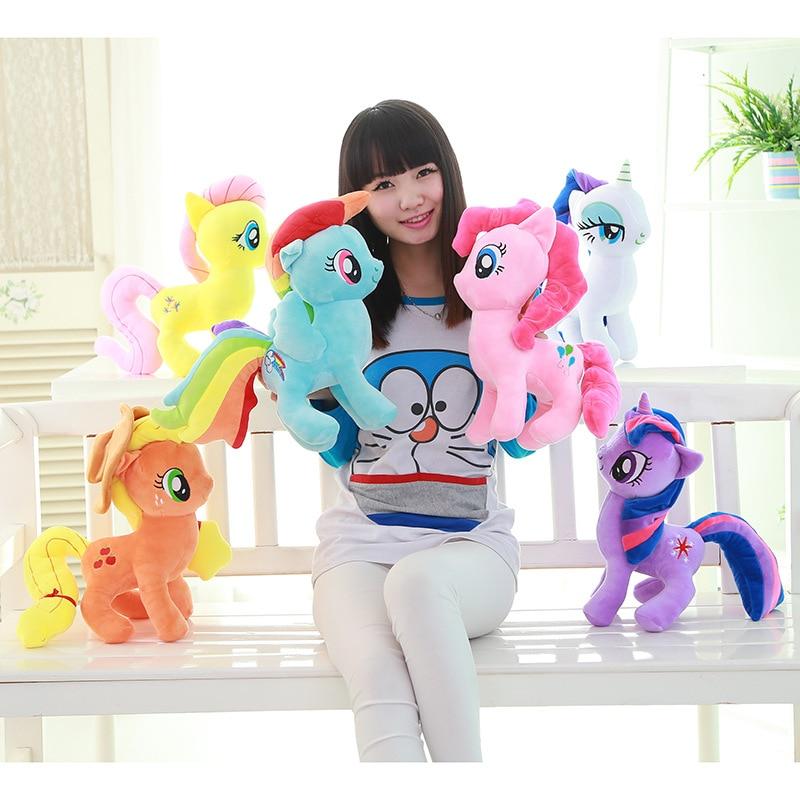 Toys for children Anime Pony plush toy Rainbow Dash Unicorn Plush Kawaii Pinkie Pie Friendship is Magic Soft plush Stuffed toys