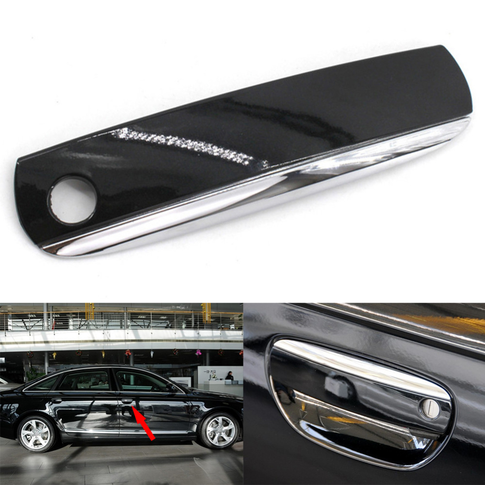 Car Styling Exterior Door Handle Cover For Audi A6 A6l C6 A4 S4 4f Fuse Box Location B6 Quattro Q7 Rs4 R8 Tt Driver Side Left Front In Handles From